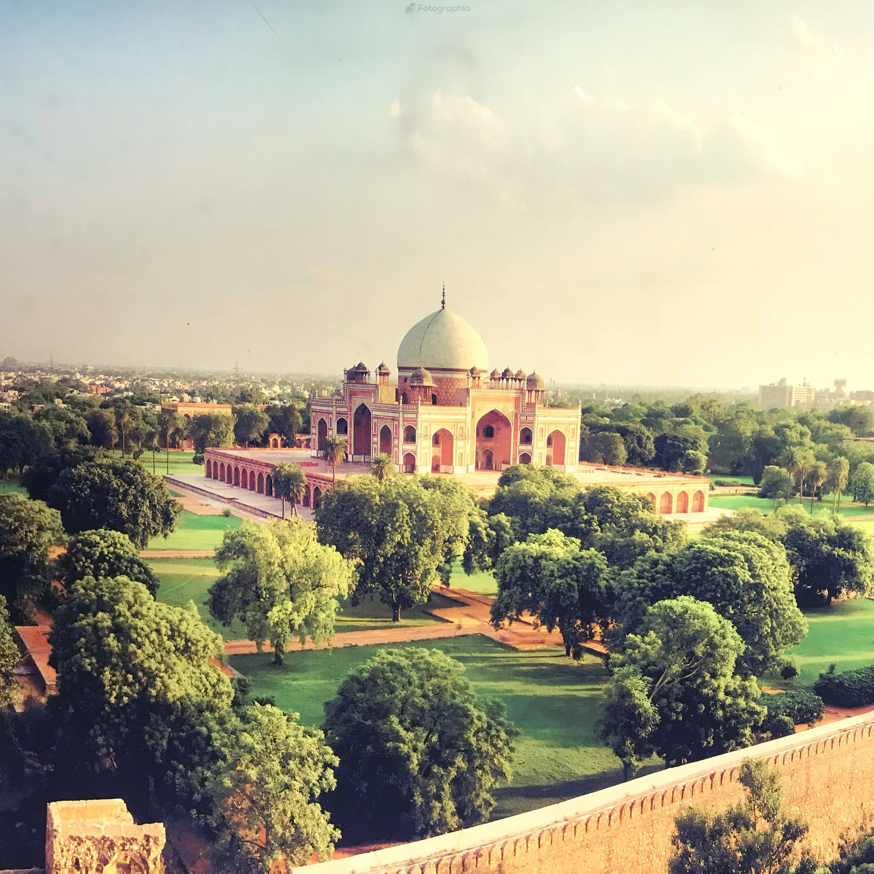 Humayun's Tomb from Top♥️