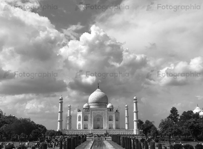 Taj in Black and white